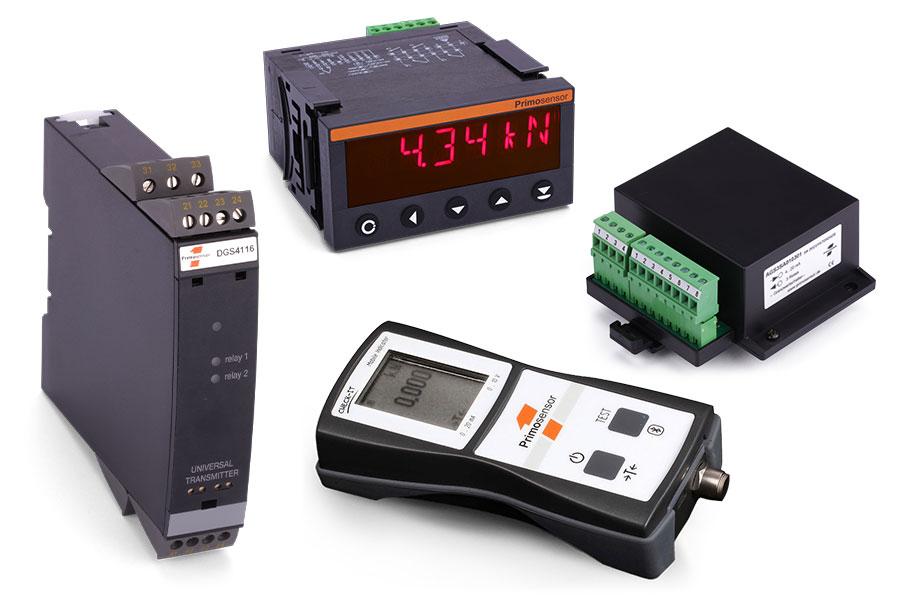 Anzeigegeräte, Verstärker und Grenzwertschalter